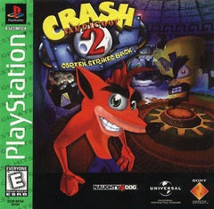Crash Bandicoot 2: Cortex Strikes Back (Sony PlayStation 1, 2000) - Games Found Here