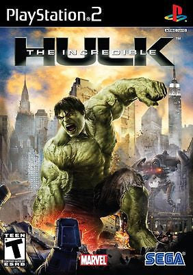 Incredible Hulk (Sony PlayStation 2, 2008) Complete