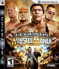 WWE Legends of WrestleMania  (Playstation 3, 2009) Complete - Games Found Here  - 1