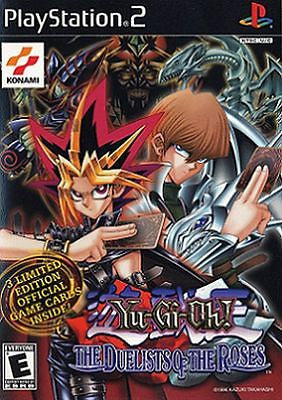 Yu-Gi-Oh The Duelists of the Roses (Sony PlayStation 2, 2003) Complete With Card