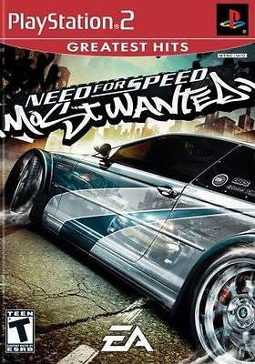 Need for Speed: Most Wanted [Greatest Hits] (Sony PlayStation 2, 2005) Complete