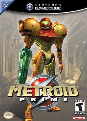 Metroid Prime [black label] (Nintendo GameCube, 2004)