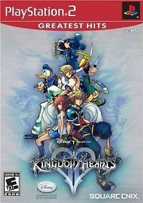 Kingdom Hearts II  [Greatest Hits] (Sony PlayStation 2, 2006) Complete
