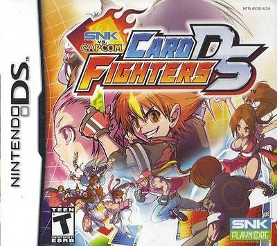 SNK vs. Capcom: Card Fighters DS (Nintendo DS, 2007)