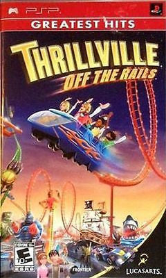 Thrillville  (Sony PSP, 2006) Complete