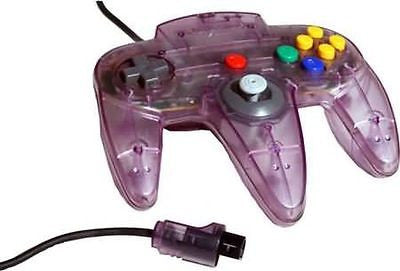 N64 Official Nintendo 64 Controller Gamepad Atomic Purple NUS-005 Tight Stick