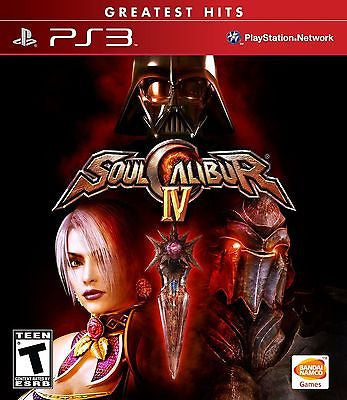 Soulcalibur IV  (Sony Playstation 3, 2008) [Greatest Hits] Complete