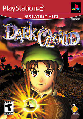 Dark Cloud  [Greatest hits] (Sony PlayStation 2, 2001) Complete Second Listing