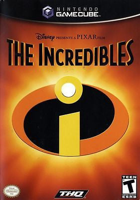 The Incredibles  (Nintendo GameCube, 2004) Complete