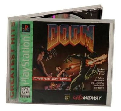 Doom [Greatest Hits] (Sony PlayStation 1, 1995) Complete