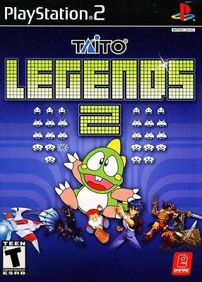 Taito Legends 2  (Sony PlayStation 2, 2007) Complete