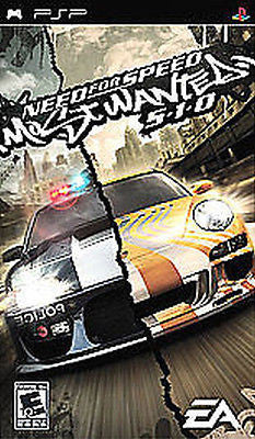 Need for Speed: Most Wanted 5-1-0 (Sony PSP, 2005) [Greatest Hits]
