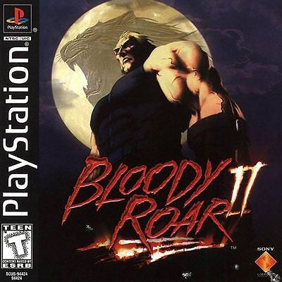 Bloody Roar II  (Sony PlayStation 1, 1999) Complete