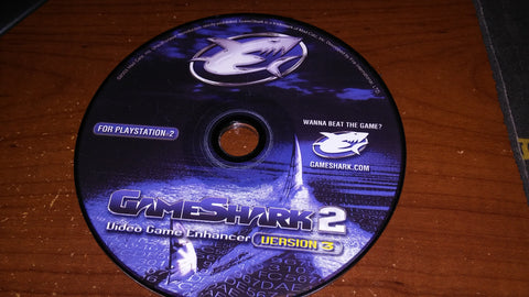 GameShark Video Game Enhancer Disc Version 3 For Sony PlayStation 2