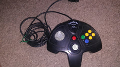 Nintendo 64 Black Superpad Controller Gamepad Performance P-305  N64 - Games Found Here  - 1