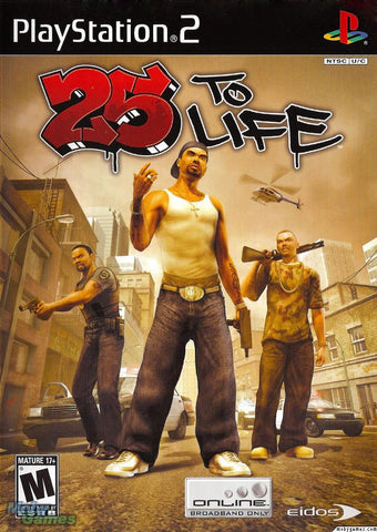 25 to Life (Sony PlayStation 2, 2006) Complete