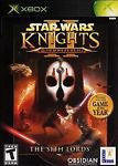 Knights of the Old Republic II The Sith Lords (Microsoft Xbox, 2004)