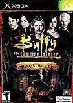 Buffy the Vampire Slayer: Chaos Bleeds  (Xbox, 2003) Complete