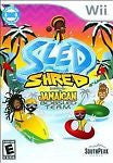 Sled Shred Featuring the Jamaican Bobsled Team (Nintendo Wii, 2010) New Sealed