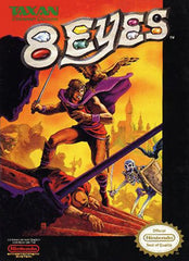 8 Eyes (Nintendo Entertainment System, NES, 1990) - Games Found Here  - 1