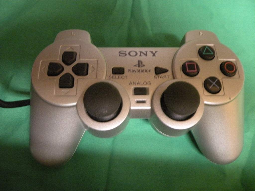 sony playstation 2 slim satin silver console scph 90001ss with