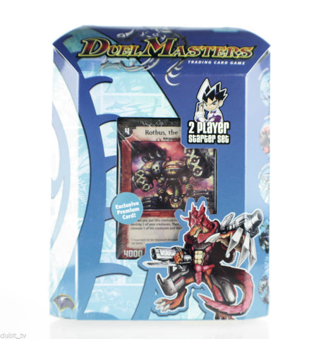 Duel Masters DM-01 Trading Card Game 2 Player Starter Set New Factory Sealed