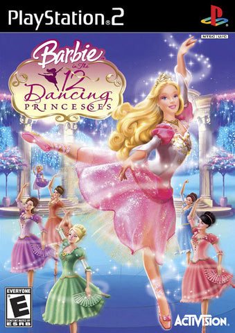 Barbie in the 12 Dancing Princesses (Sony PlayStation 2, 2006) Complete