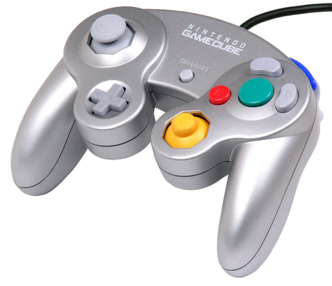Official Original Nintendo Platinum Silver (DOLACPL2) Wired Game-pad Controller