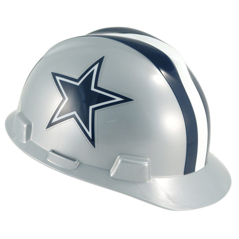 Dallas Cowboys Hard Hat Helmet MSA Safety Head Guard NFL Football Work Hardhat Medium