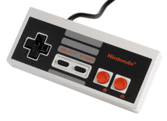 Nintendo Entertainment System Original Official NES-004 Vintage Controller Gamepad - Games Found Here