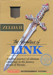 Zelda II: The Adventure of Link (Nintendo Entertainment System, 1988) - Games Found Here  - 1