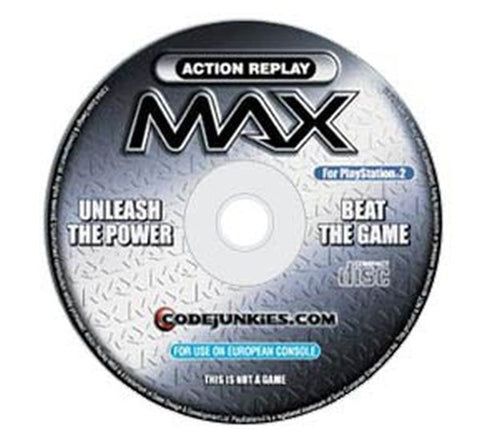 Action Replay Max Sony PlayStation 2 Disc Only