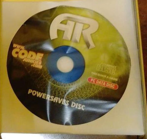 Action Replay AR For PC PowerSaves Disc Cheats And Codes Xbox