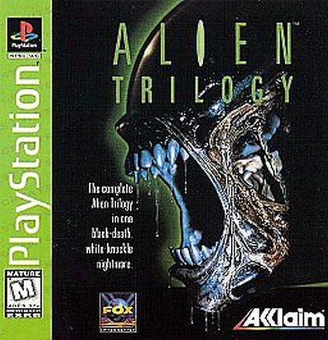 Alien Trilogy  (Sony PlayStation 1, 1996)