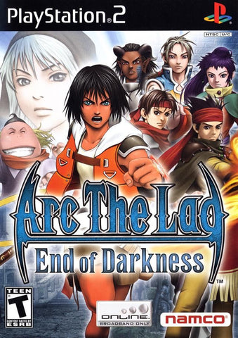 Arc the Lad: End of Darkness (Sony PlayStation 2, 2005) Complete
