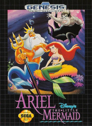 Ariel the Little Mermaid (Sega Genesis, 1992)