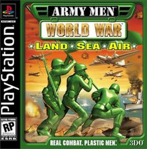Army Men: World War -- Land, Sea, Air (Sony PlayStation 1, 2000)