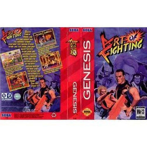 Art of Fighting  (Sega Genesis, 1994)