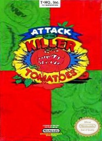 Attack of the Killer Tomatoes (Nintendo NES, 1992)