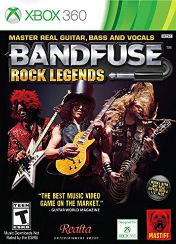 BandFuse: Rock Legends - Artist Pack (Microsoft Xbox 360, 2013)