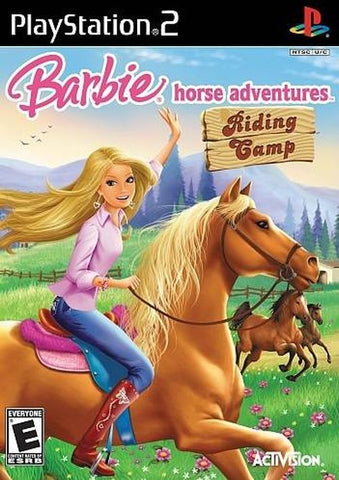 Barbie Horse Adventures: Riding Camp  (Sony PlayStation 2, 2008) Complete