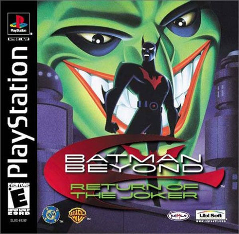 Batman Beyond: Return Of The Joker (Sony PlayStation 1, 2000) Complete