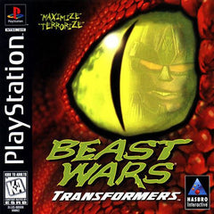 Beast Wars: Transformers (Sony PlayStation 1, 1998) Complete - Games Found Here