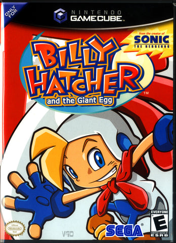 Billy Hatcher and the Giant Egg  (Nintendo GameCube, 2003)
