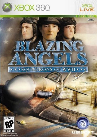 Blazing Angels: Squadrons of WWII (Microsoft Xbox 360, 2006)
