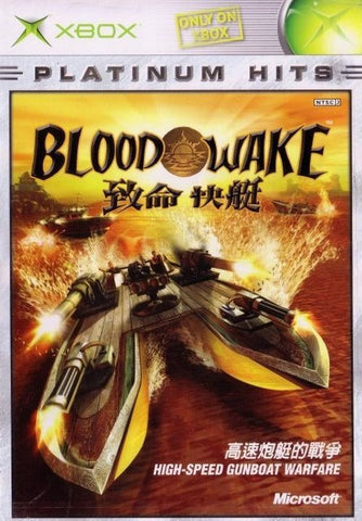 Blood Wake (Microsoft Xbox, 2002) Complete Platinum Hits