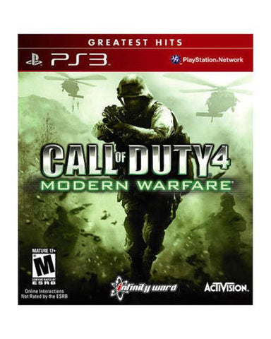 Call of Duty 4: Modern Warfare (Sony PlayStation 3, 2007) Complete