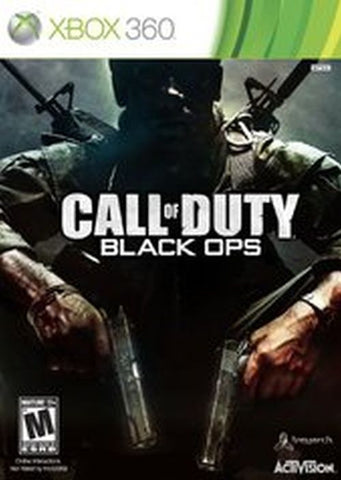 Call of Duty: Black Ops  (Microsoft Xbox 360, 2010) Complete