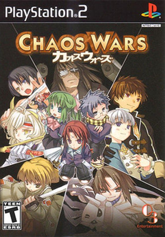 Chaos Wars  (Sony PlayStation 2, 2008)  Complete