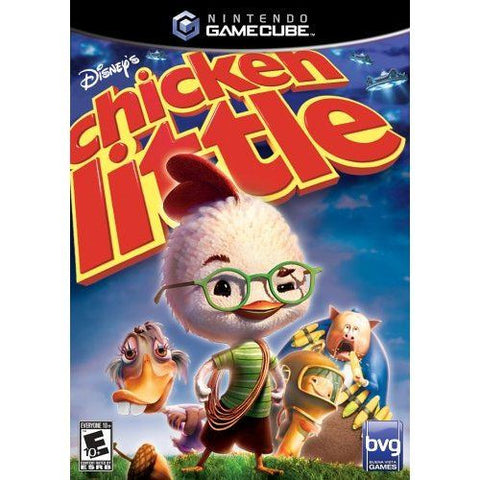 Disney's Chicken Little (Nintendo GameCube, 2005) Complete